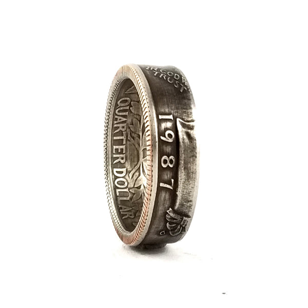 1987 Liberty Quarter Ring by midnight jo