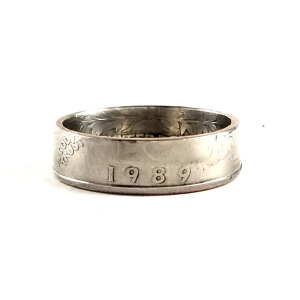 1989 Quarter Coin Ring by midnight jo