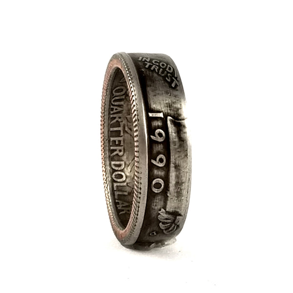 1990 Washington Quarter Ring by midnight jo