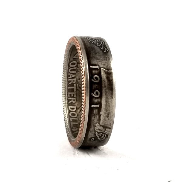 1991 Quarter Coin Ring by midnight jo
