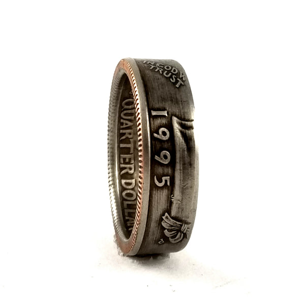 1995 Quarter Coin Ring by midnight jo