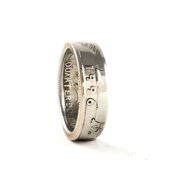 1996 Quarter Coin Ring by midnight jo