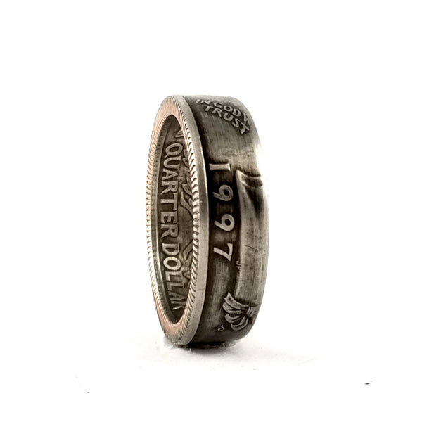 1997 Quarter Coin Ring by midnight jo