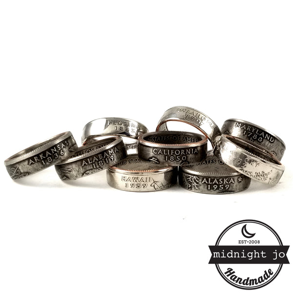 state coin rings by midnight jo
