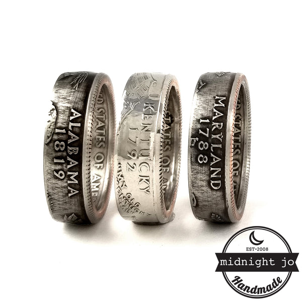 state quarter rings by midnight jo