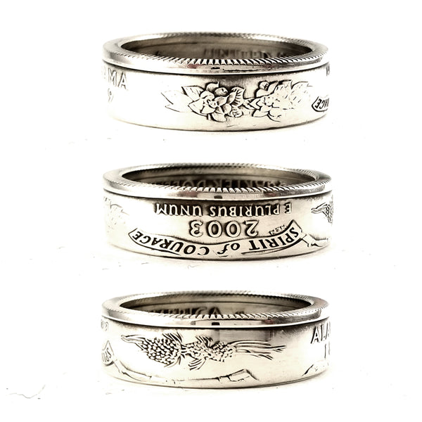 90% Silver Alabama Coin Ring by midnight jo