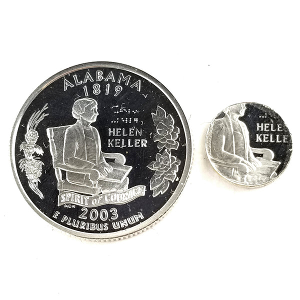 silver alabama proof quarter