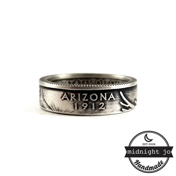 arizona state coin ring