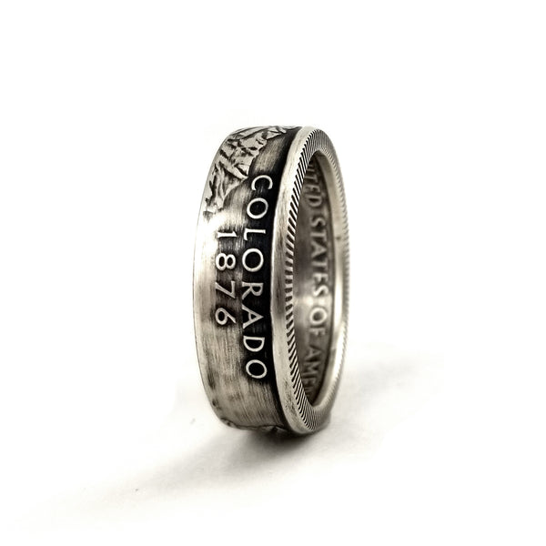 90% Silver Colorado Coin Ring by midnight jo
