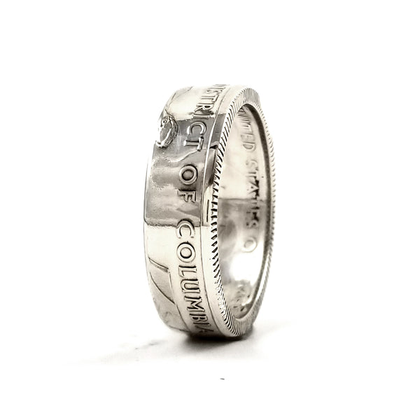 Silver District of Columbia Coin Ring by midnight jo