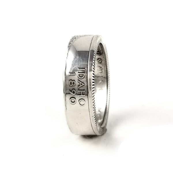 Silver Idaho Coin Ring by midnight jo