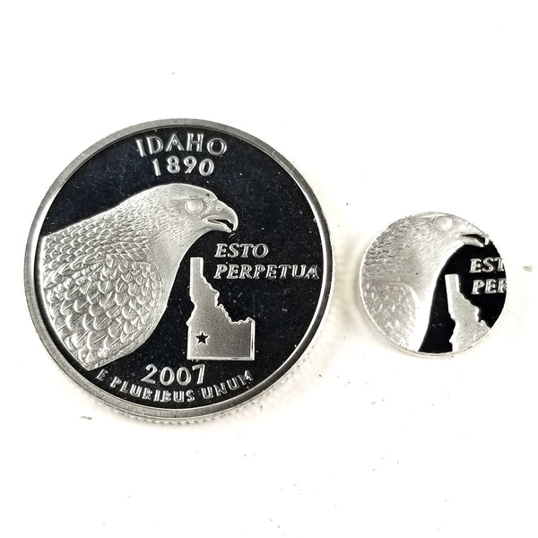 silver idaho proof quarter