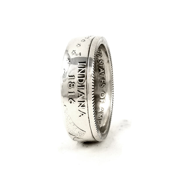 Silver Indiana Coin Ring by midnight jo