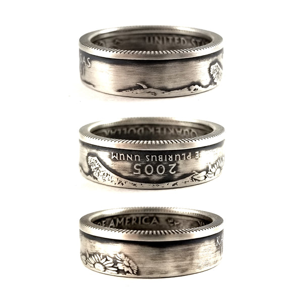 90% Silver Kansas coin Ring by midnight jo