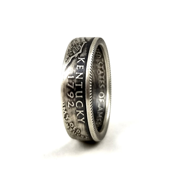 Silver Kentucky Quarter Coin Ring by midnight jo