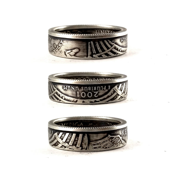 Silver Kentucky Coin Ring by midnight jo
