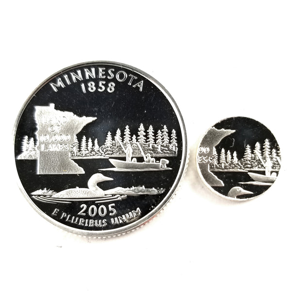 silver minnesota proof quarter