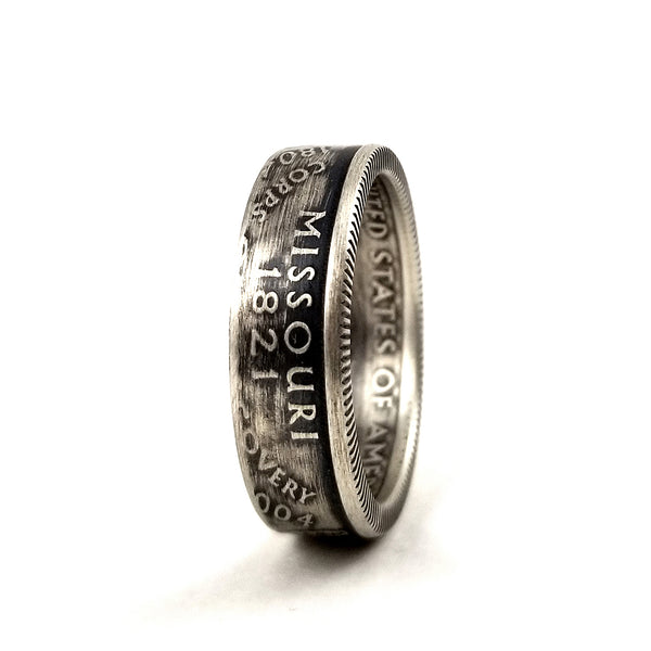 90% Silver Missouri Quarter Ring by midnight jo