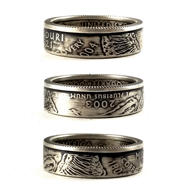 90% Silver Missouri coin Ring by midnight jo