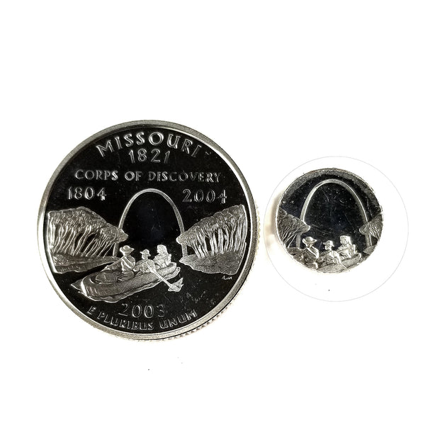 silver missouri proof quarter