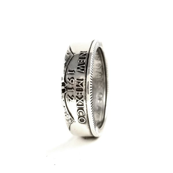 90% Silver New Mexico Coin Ring by midnight jo