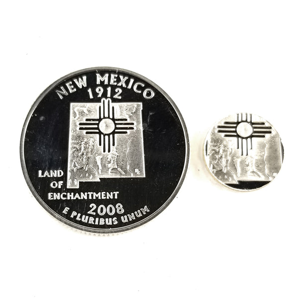silver new mexico proof quarter