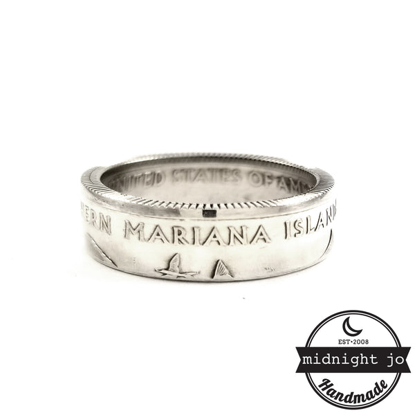 90% Silver Northern Mariana Islands coin Ring by midnight jo