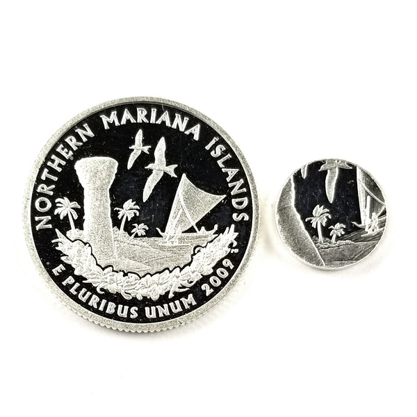 silver northern mariana islands proof quarter