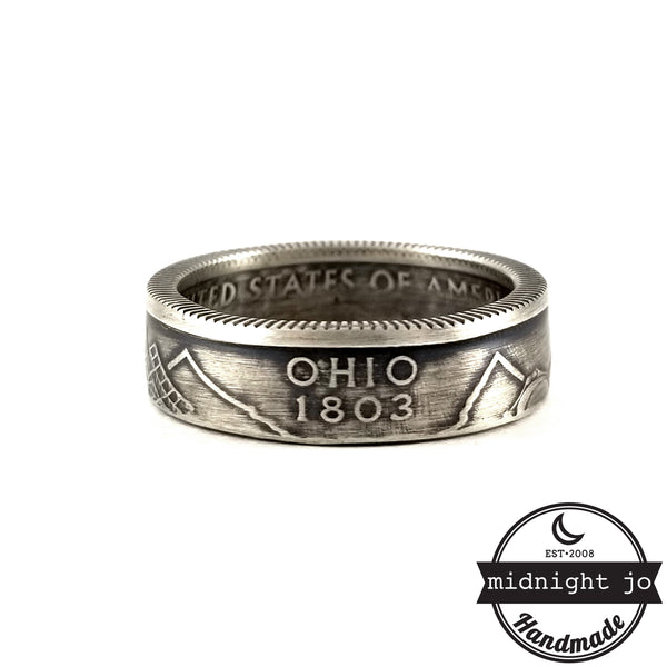 90% Silver Ohio Coin Ring by midnight jo