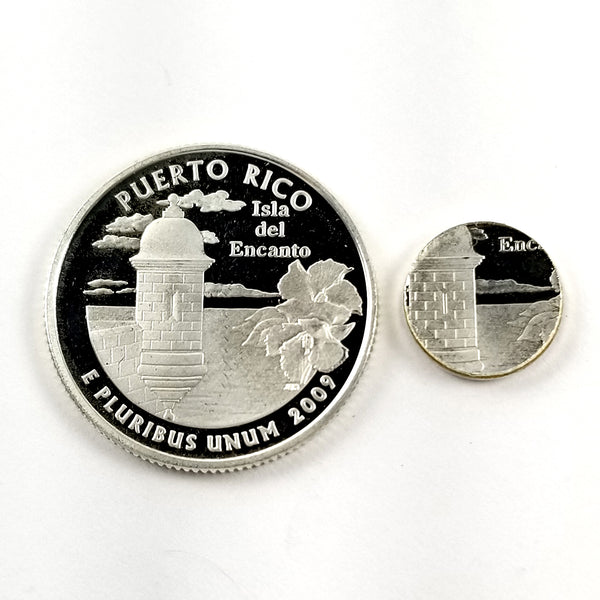 silver puerto rico proof quarter