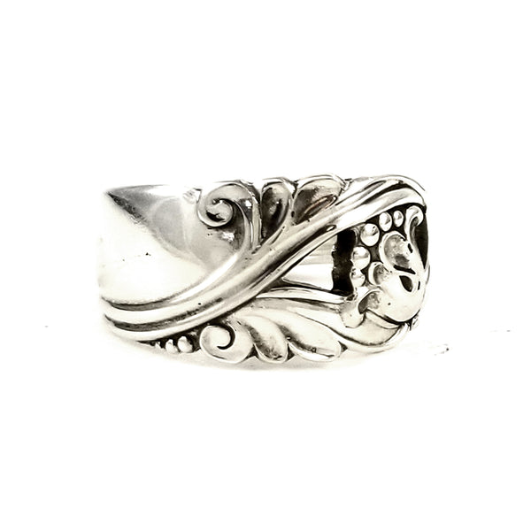 International Spring Glory Sterling Silver Spoon Ring by midnight jo