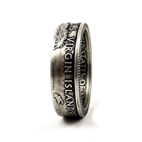 90% Silver USVI Quarter Ring by midnight jo