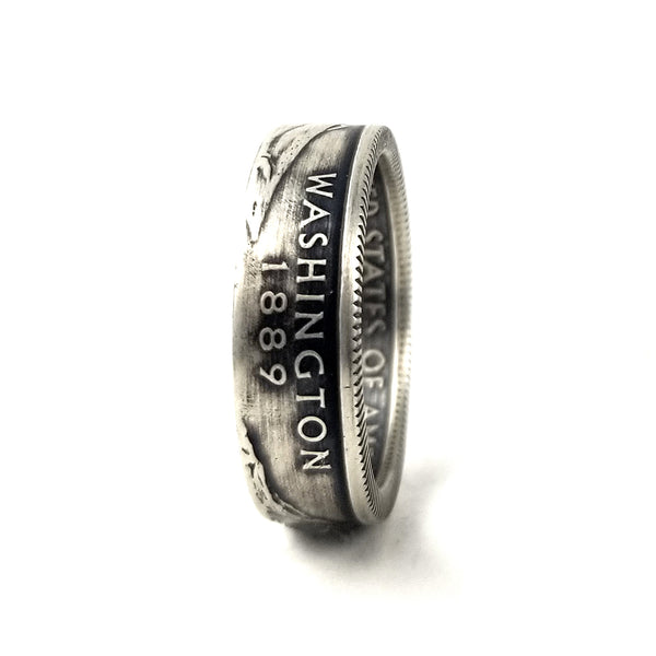 90% Silver Washington State Coin Ring by midnight jo