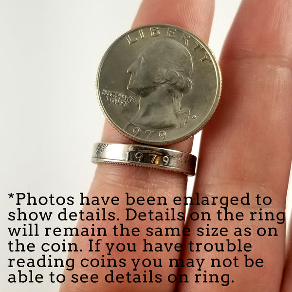 1965-1998 Washington Quarter Stacking Ring