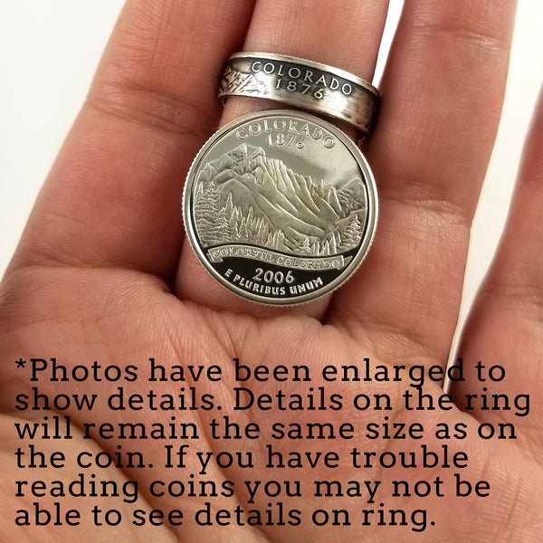 90% Silver District of Columbia Quarter Ring