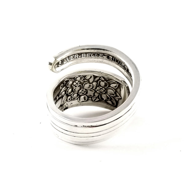 International Silver Belle Wrap Around Spoon Ring by Midnight Jo