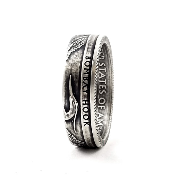 90% Silver Bombay Hook National Park Quarter Ring by Midnight Jo