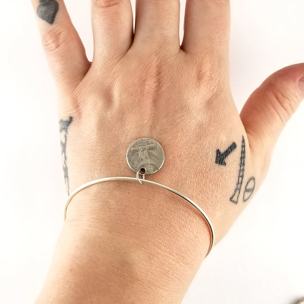 coin charm bracelet by midnight jo