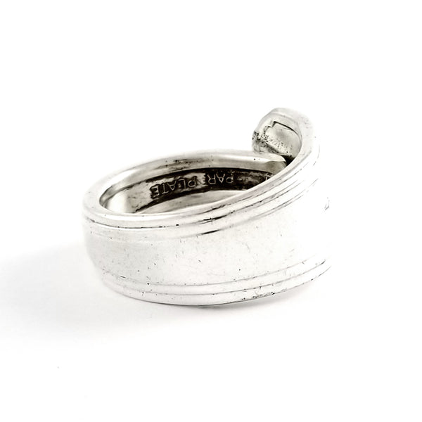 Oneida Silver Clarion Spoon Ring by Midnight Jo