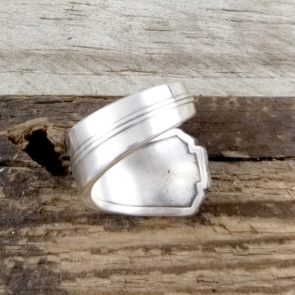 wrap around spoon ring