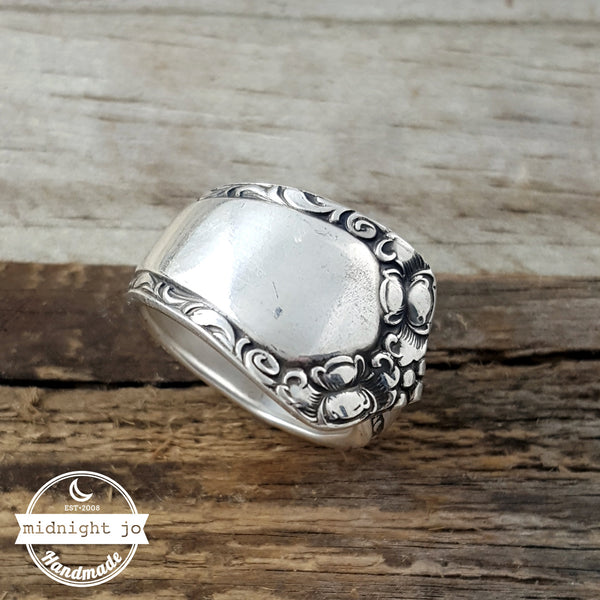 Rosemary Easterling Sterling Silver Spoon Ring