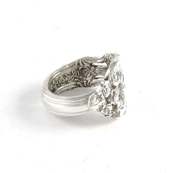Lunt Eloquence Sterling Silver Spoon Ring by Midnight Jo