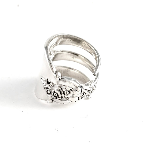 Lunt Eloquence Sterling Silver Cocktail Fork Ring by Midnight Jo