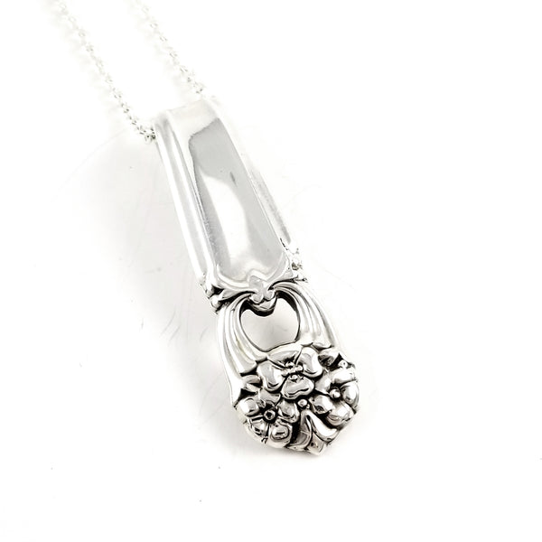 International Silver Eternally Yours Spoon Necklace by Midnight Jo