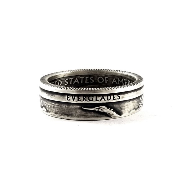 90% Silver Everglades National Park coin Ring by midnight jo