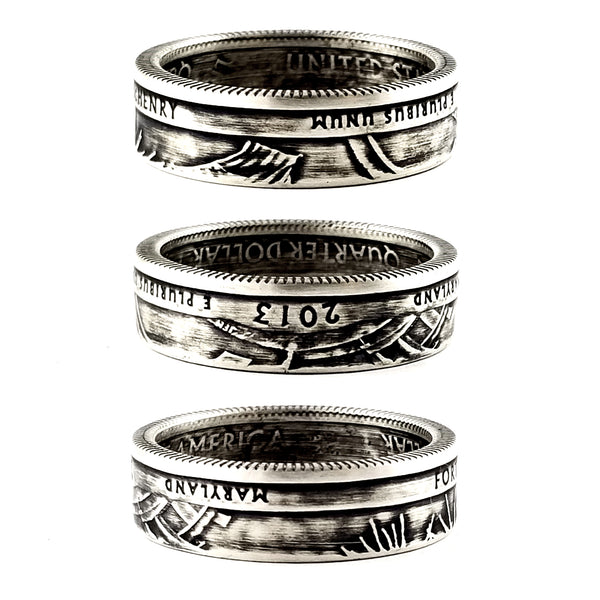 90% Silver Fort McHenry National Park Quarter Ring by midnight jo