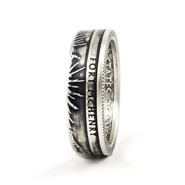 fort mchenry coin ring midnight jo