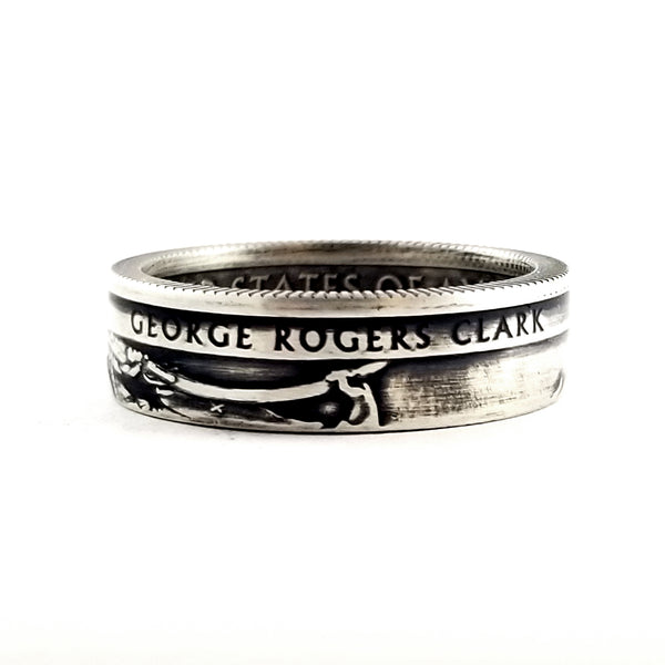 90% Silver George Rogers Clark National Park Quarter Ring by midnight jo