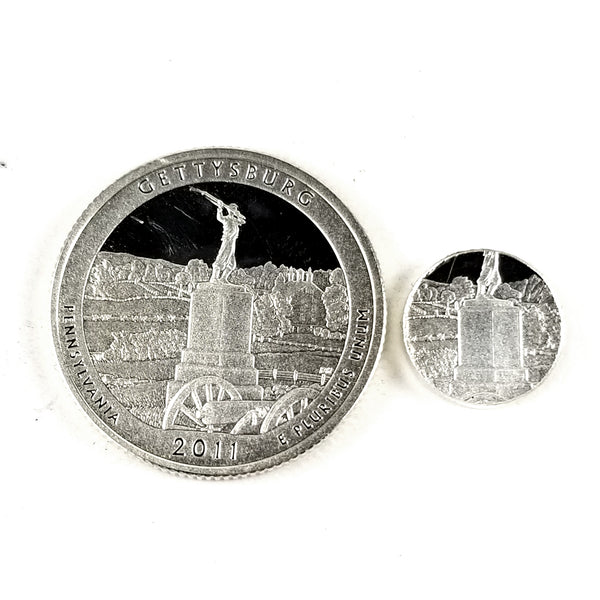 silver gettysburg quarter punch out midnight jo