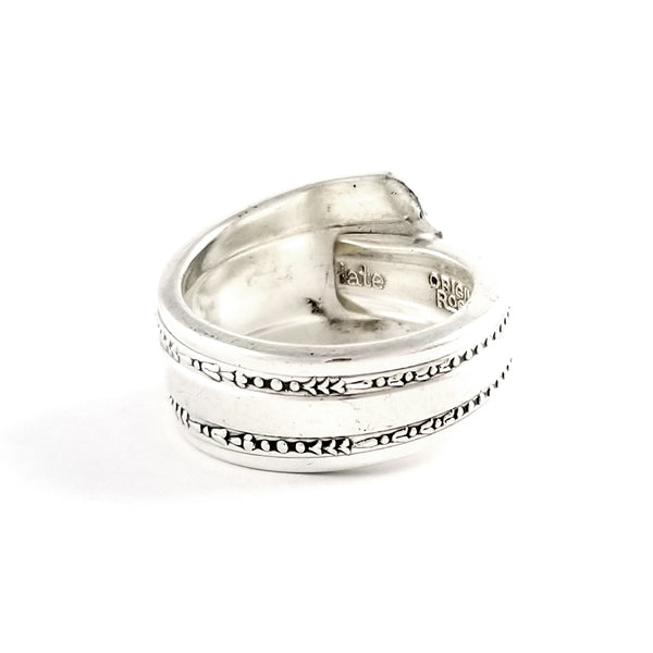 Rogers DeLuxe Gracious Spoon Ring by Midnight Jo